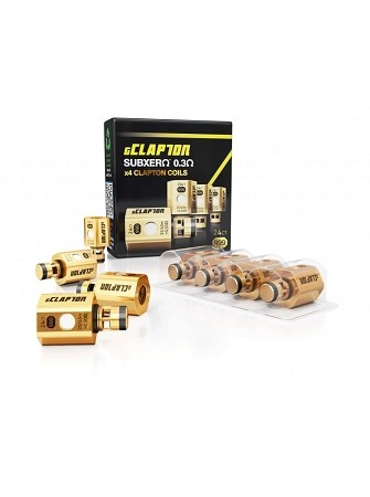 gClapton OVC Gold Heater Heads