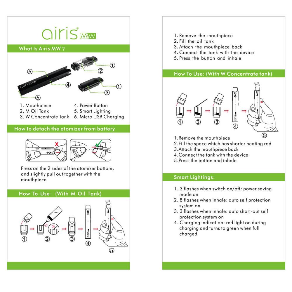 Airis MW 2 in 1 Pod Kit